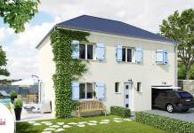 plan maison etage traditionnelle