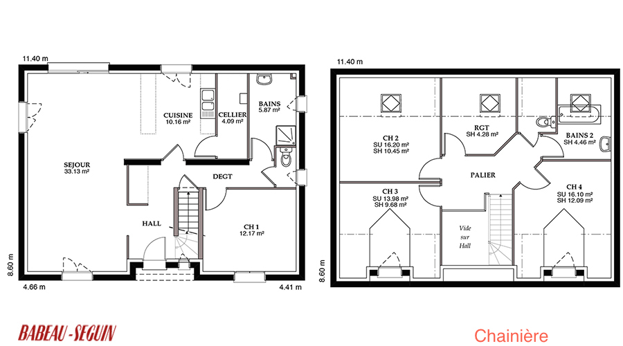 Plan maison 140m2 r 1 ventana blog for Plan maison r 1 gratuit