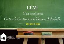 le contrat de construction de maison