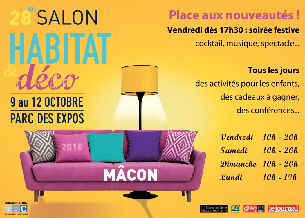Macon salon de l habitat for Salon habitat