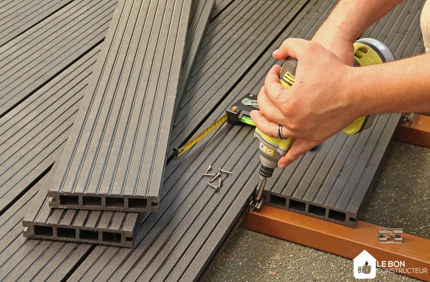 Terrasse en matériaux composites