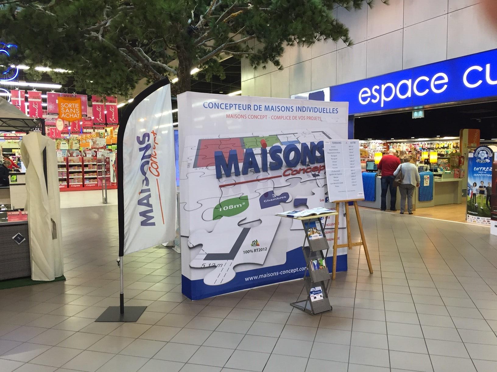 Maisons Concept expose Leclerc Chinon