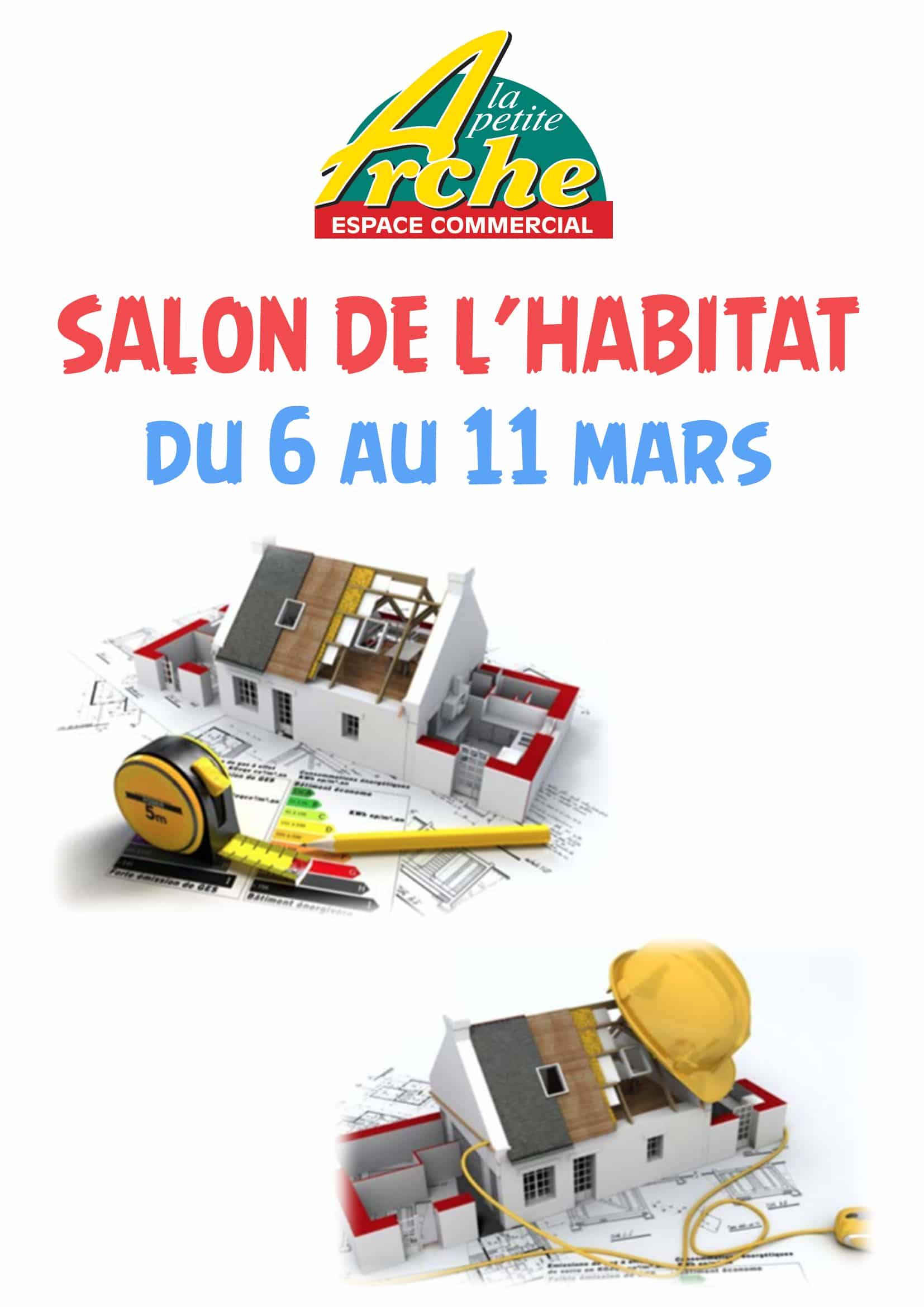 06 au 11 mars 2017 salon de l immobilier et de l habitat auchan tours nord. Black Bedroom Furniture Sets. Home Design Ideas
