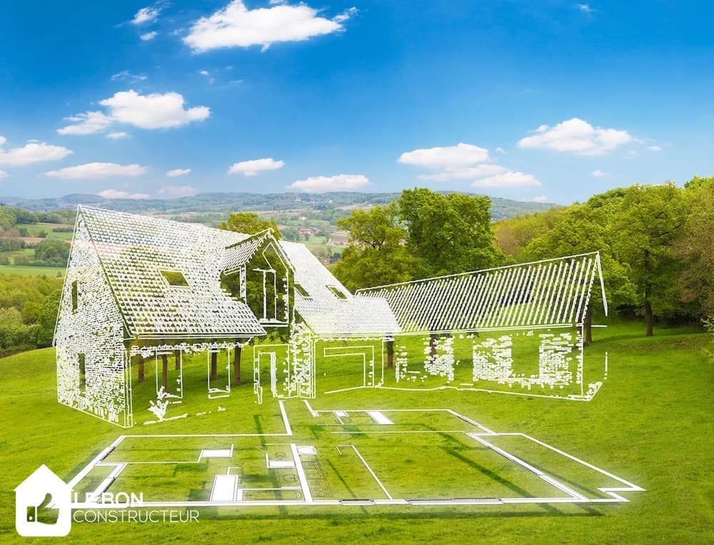 Implanter et orienter sa maison for Construire sa maison sur un terrain agricole